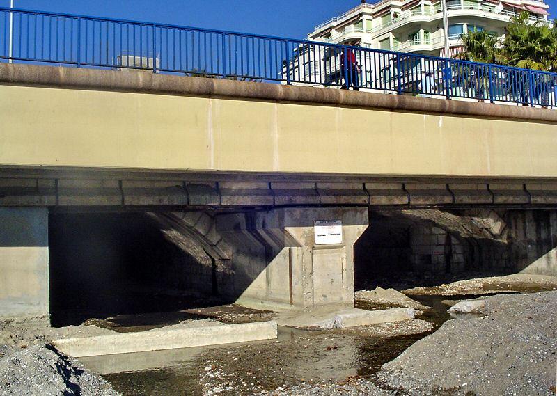 Rivière est souterraine the low part of the river is undergrounded