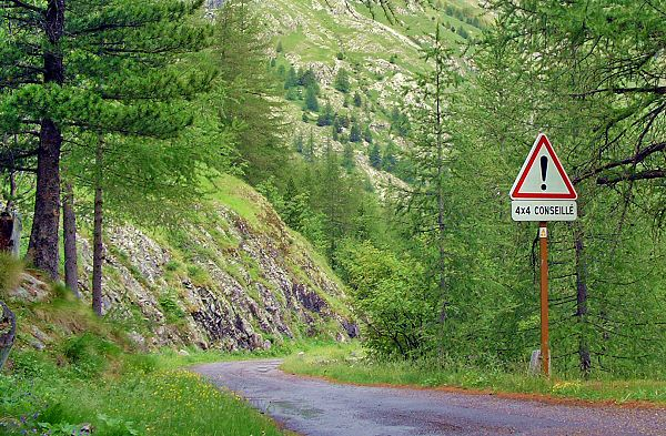 Retour au volant vers la Route des Forts et le Col de Tende - Return to the wheel